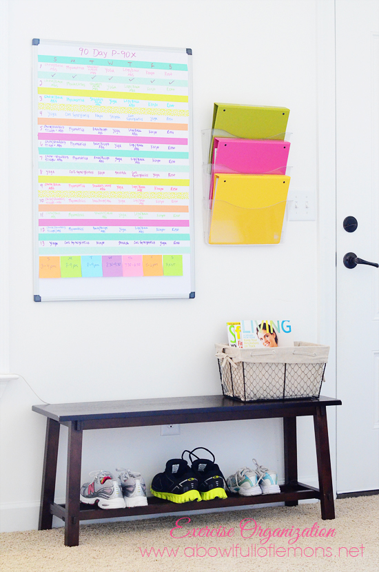 how to organize home exercise room